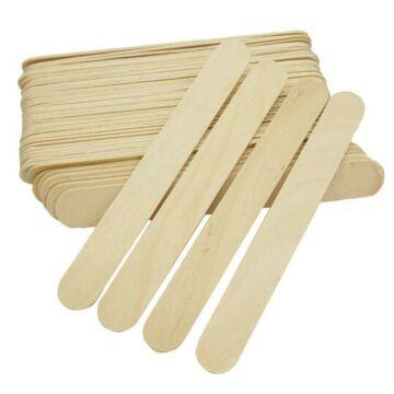 Narancsfa spatula gyantázáshoz 50db/csomag